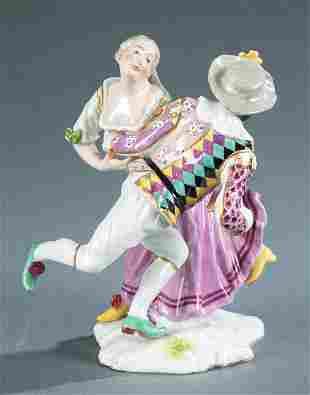 Hochst porcelain figure of a dancing couple.