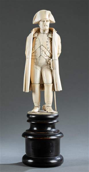 Carved  statue of Napoleon