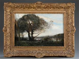 After Jean-Baptiste-Camille Corot, O/C.