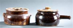 Norman Smith, 2 kitchenware pieces.