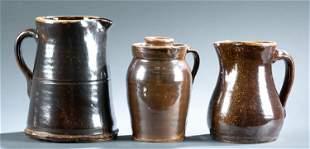3 Pottery vessels, Lawley, AL