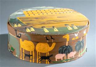 Sharon Johnson, Noah's Ark basket.