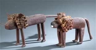 Cyril Billiot, 2 lions.