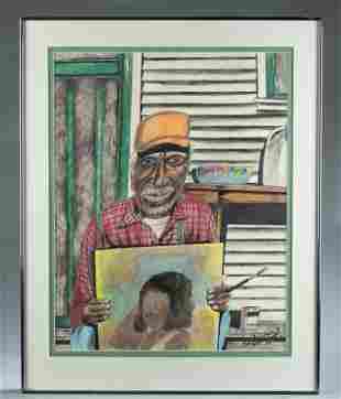 Roy Ferdinand, Jimmy Lee Sudduth, 1990.