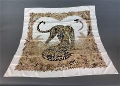 "Hermes ""Jungle Love"" silk scarf"