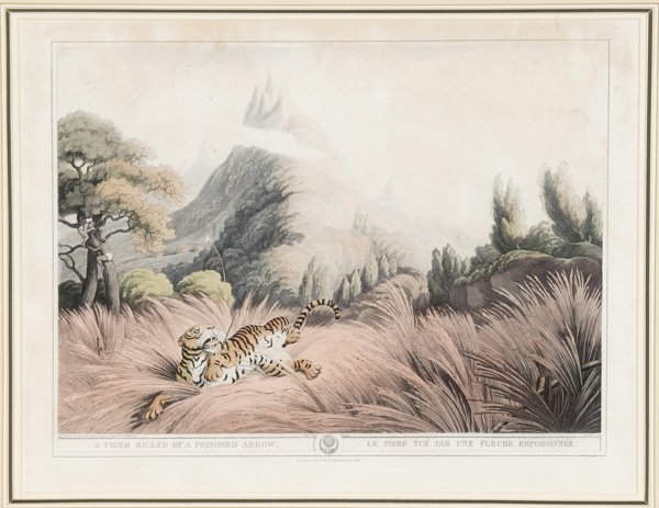 1009: [Hunting]. 2 color aquatints by Samuel Howett aft
