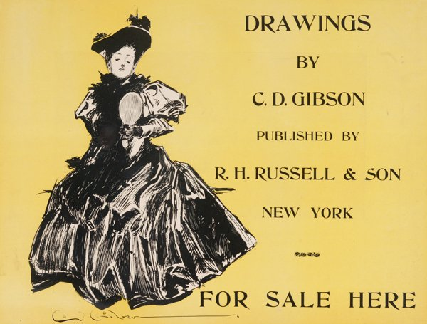 1012: [Illustrators]. 4 Pieces. ++ Gibson, Charles Dana