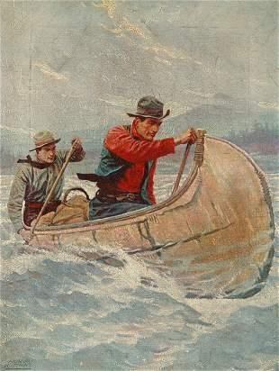 [Sporting Scene]. Illustration for National Sport