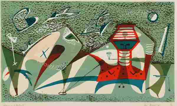 1090: Bothwell, Dorr (Am. 1902-2000). Signs And Portent
