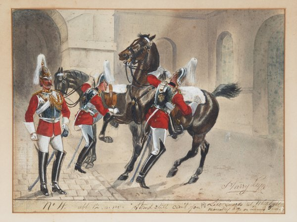 1212: Payne, Harry. (Eng. 20th c.). Life Guards at Whit