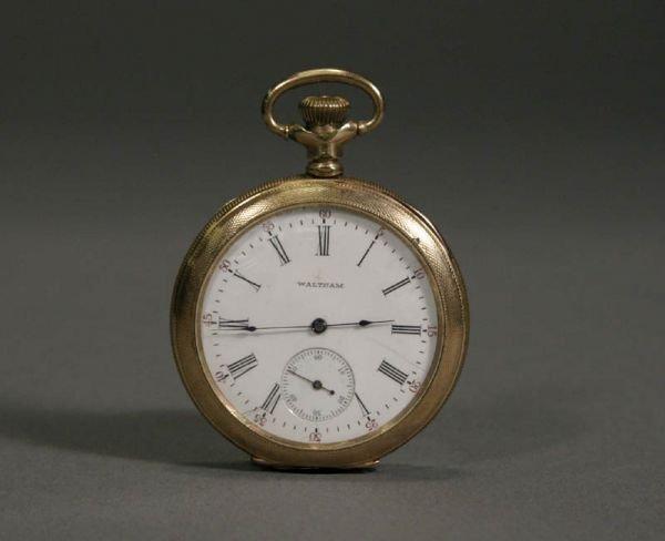 """350: Waltham Watch Co. """"Riveside"""" size 14 Pocket Watch"""
