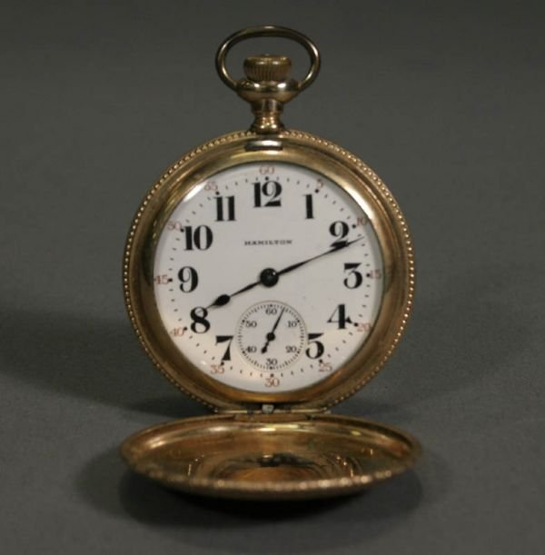 351: Hamilton Watch Co. 974 Special pocket Watch