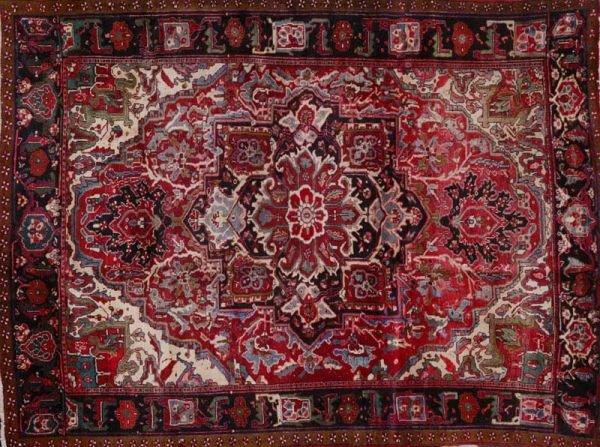 364: Persian Heriz carpet, Sherabian design