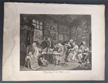 Hogarth. Marriage a La Mode. 1745.
