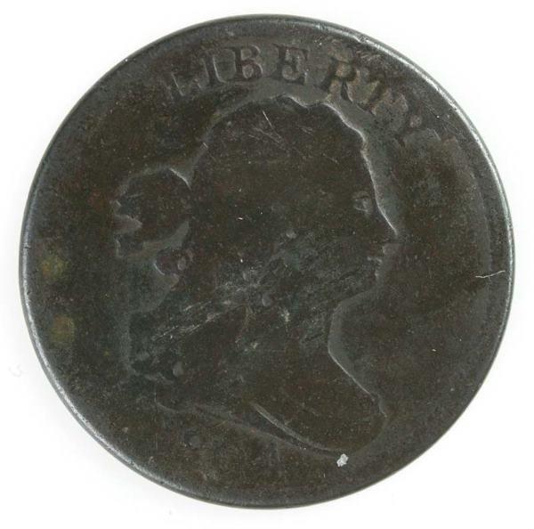 11: Two Half cents: 1804 Cohen 9, F+; 1804 Cohen 10