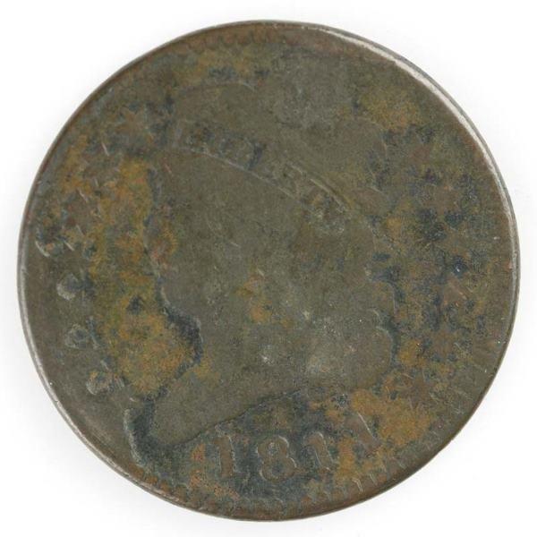 21: Three Half cents; Three: 1810 C1 ; 1811 C1 G; 1811