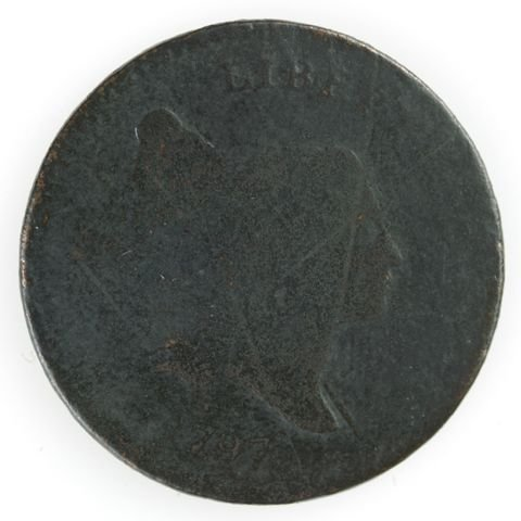 6: 6: Two Half Cents, 1795 & 1797