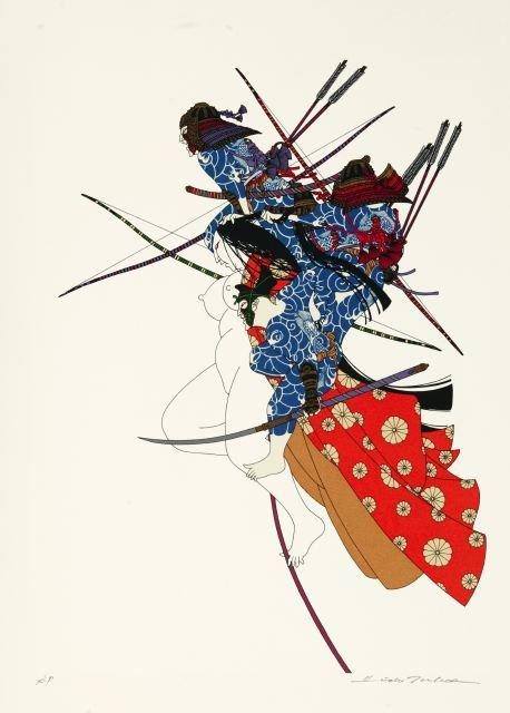 1026: Takeda, Hideo (b.1948). Color silkscreen