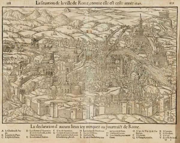1115: [Italy]. [Munster, Sebastian]. La Situation De La