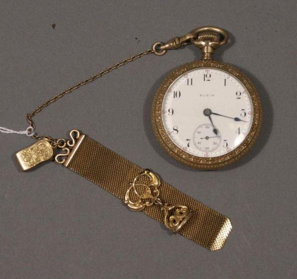 3: American Waltham Model 1899, 14K gold case