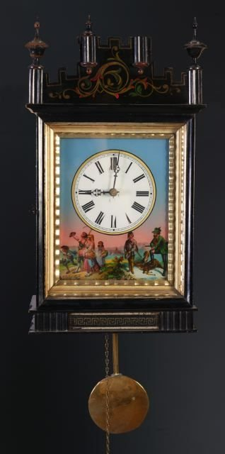 5: German picture frame wall clock