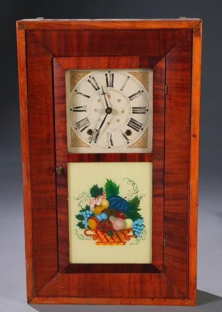 13: Ephram Downs, Bristol, Conn, Ogee case clock