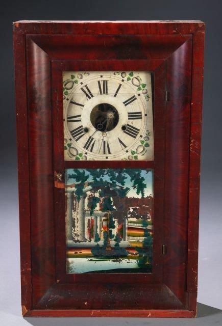 14: Elisha Manross, Bristol, Conn, Ogee case clock