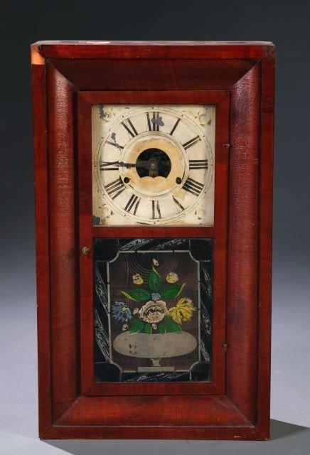 16: Forestville Mfg. Co Ogee case shelf clock