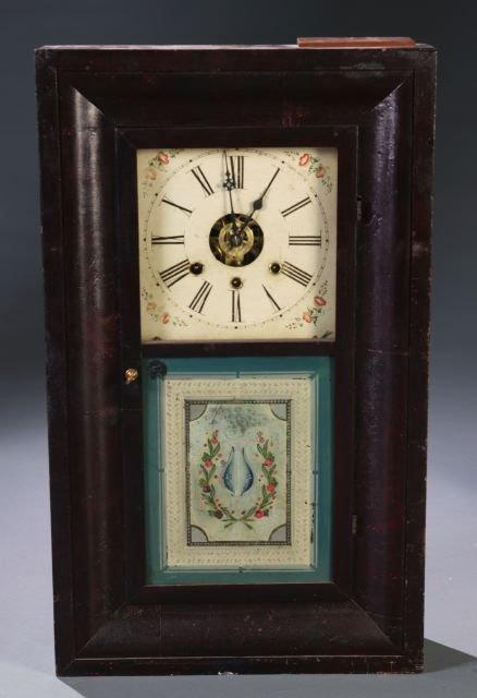 17: Chauncey Boardman Ogee case shelf clock