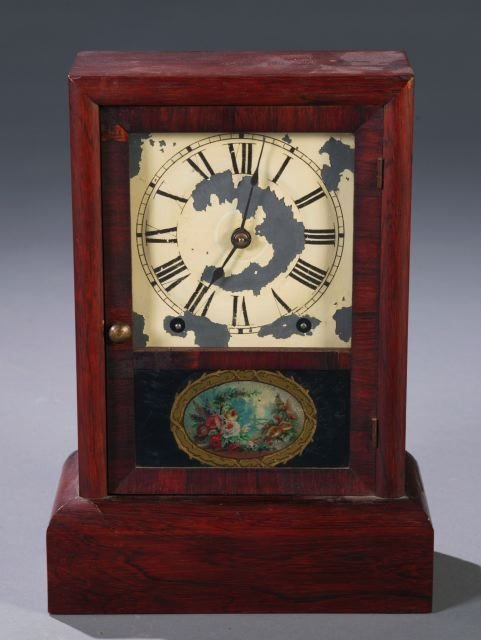 18: Seth Thomas Cottage clock in rosewood case