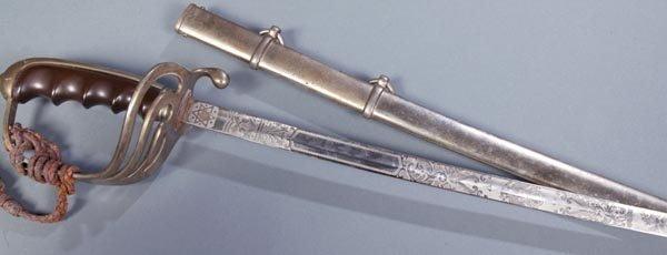 412: US Military dress sword Spartan - 3