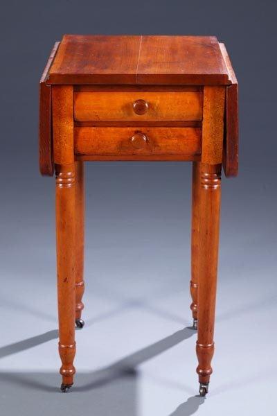 414: Sheraton 2 drawer work table