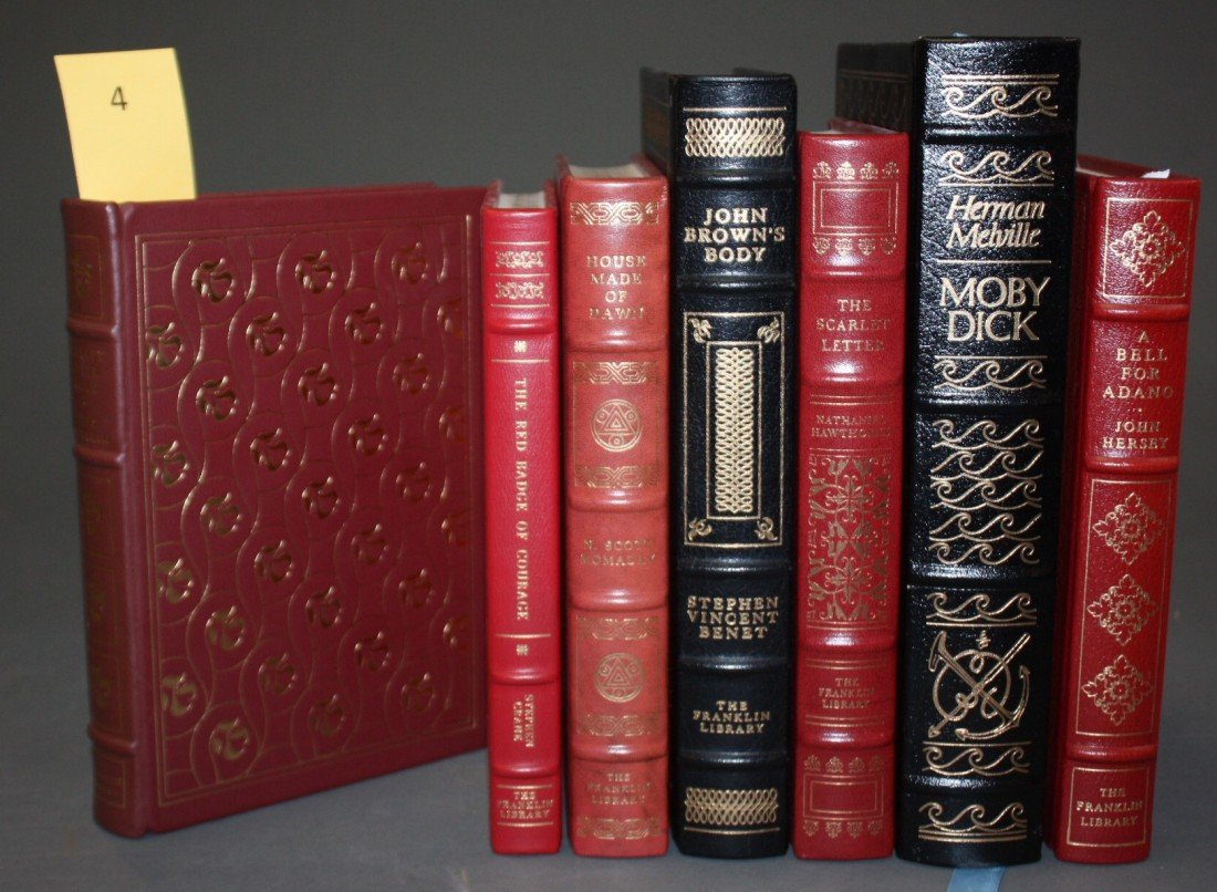 1004: 7 Books published Franklin Library, Easton Press.