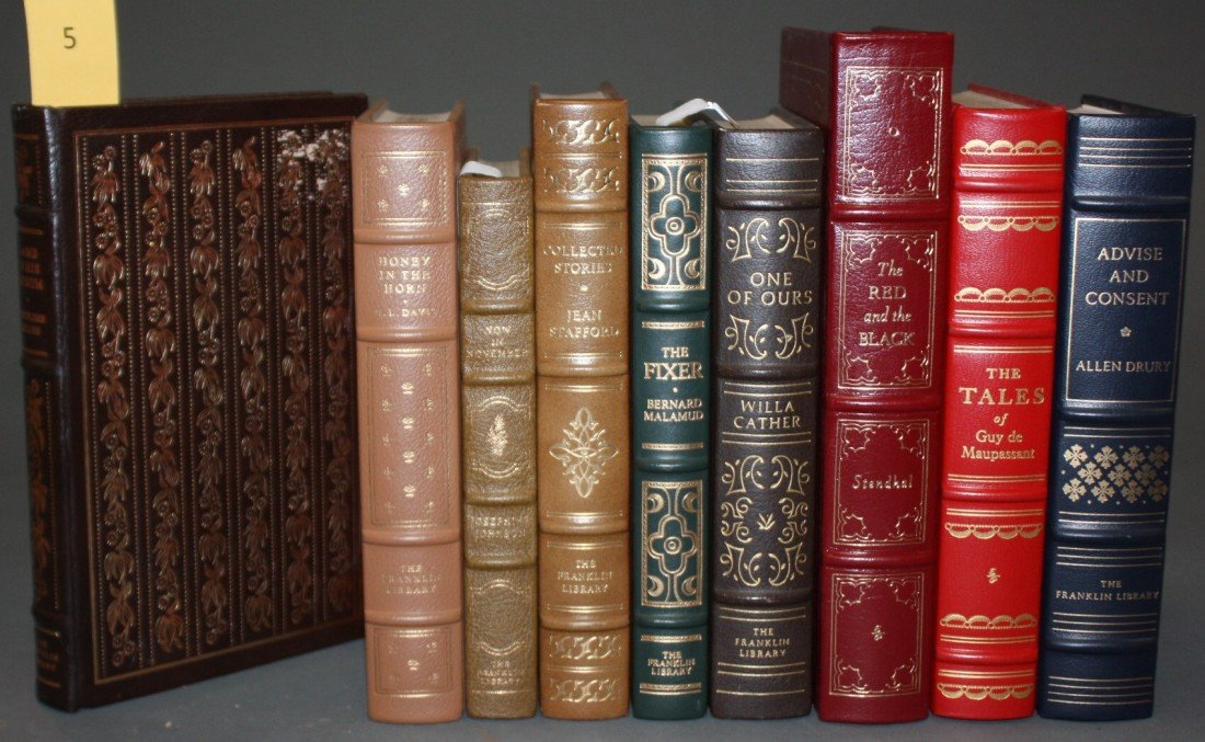 1005: 9 Books, Franklin Library/Easton Press.