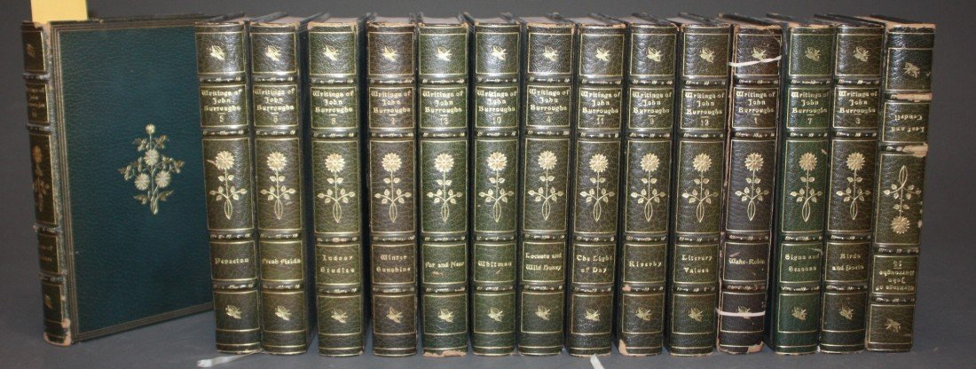 1008: The Writings Of John Burroughs. 15 Vols. 305/750.