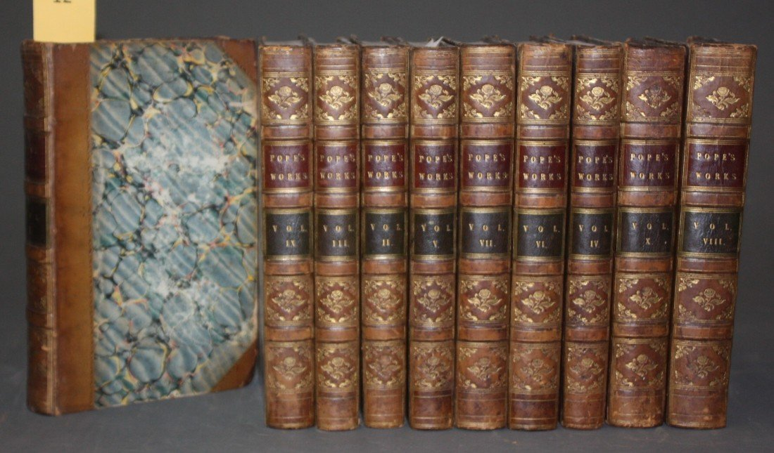 1012: The Works Of Alexander Pope, 10 Vols,