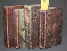 1052: 4 Books in German published in PA 1784, 1826, (nd