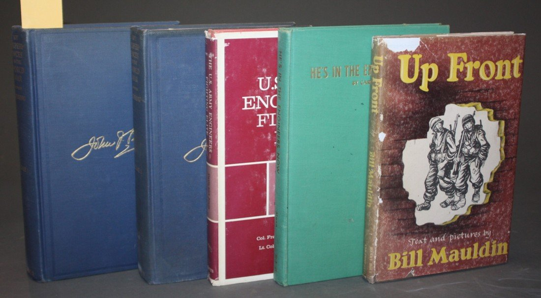 1072: 19 Vols: Olmstead, 10 WWI/WWII-related, 7 others