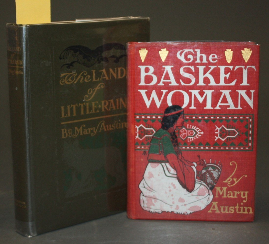 1075: 2 Books: THE BASKET WOMAN, THE LAND OF LITTLE RAI