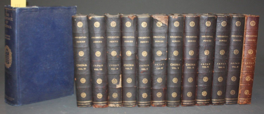 1094: 15 Vols: Japan and China (12 Vols), 3 others