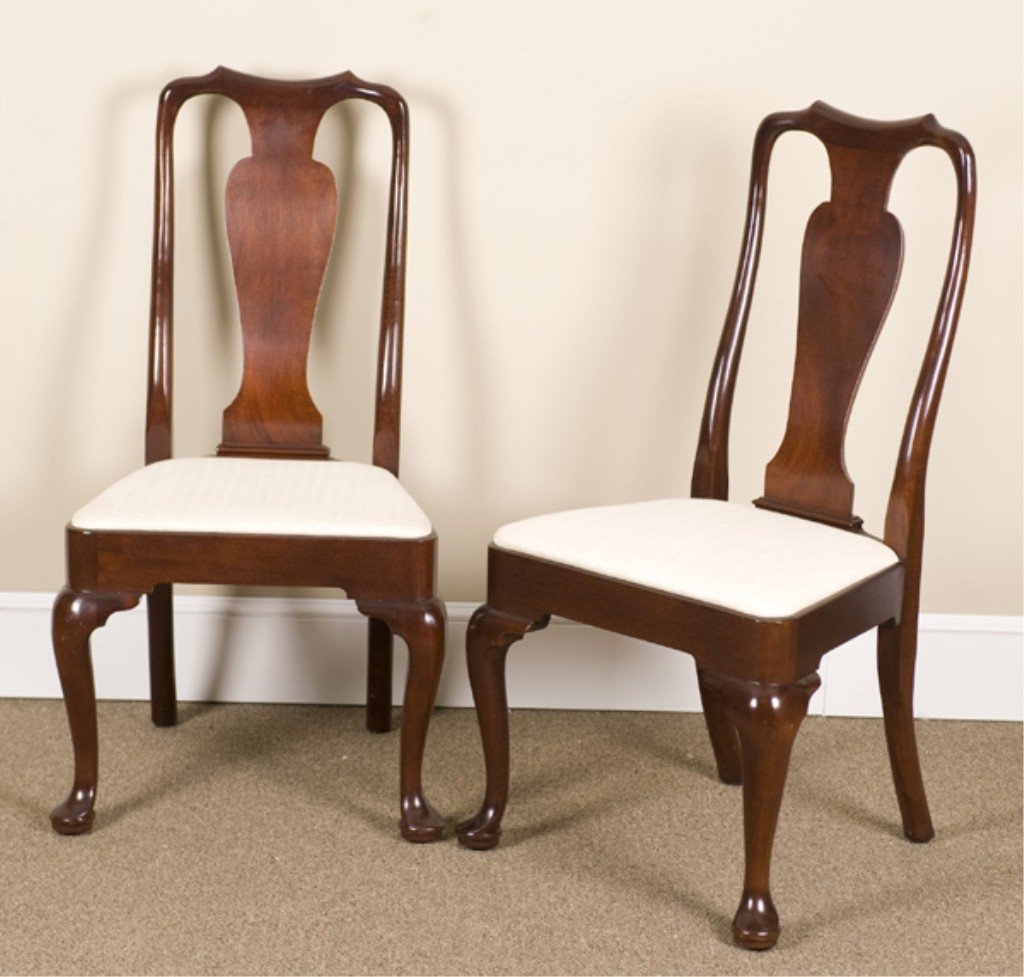 19: Set of 8 Kittinger Richmond Coll. Dining Chairs.