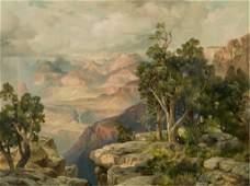 "188: James Moran (Am. 1837-1926).""Grand Canyon."""