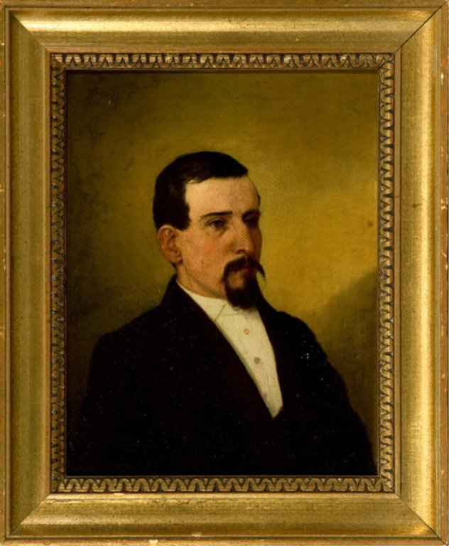 212: Early 20th century portrait of a gentleman.