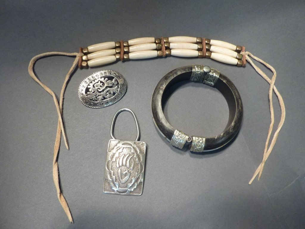 1: Group of Native American Jewelry