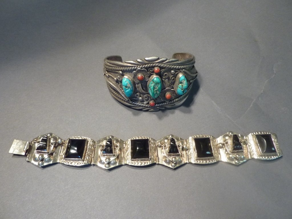 7: Native American and Mexican bracelets.