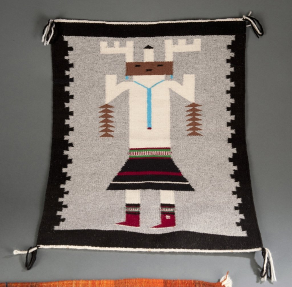 18: Group of 2 Native American Rugs
