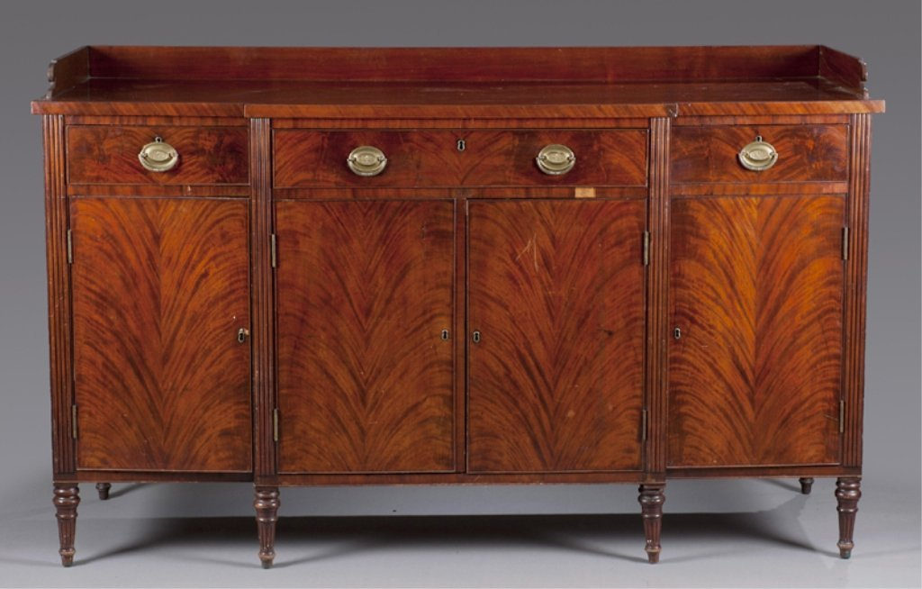 10: American late Federal Sideboard.
