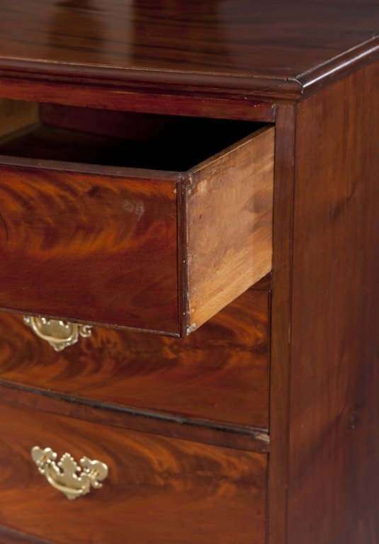 18: Chippendale 5 Drawer Chest of Drawers. - 2