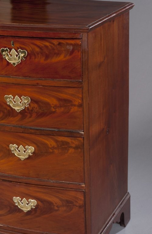 18: Chippendale 5 Drawer Chest of Drawers. - 3