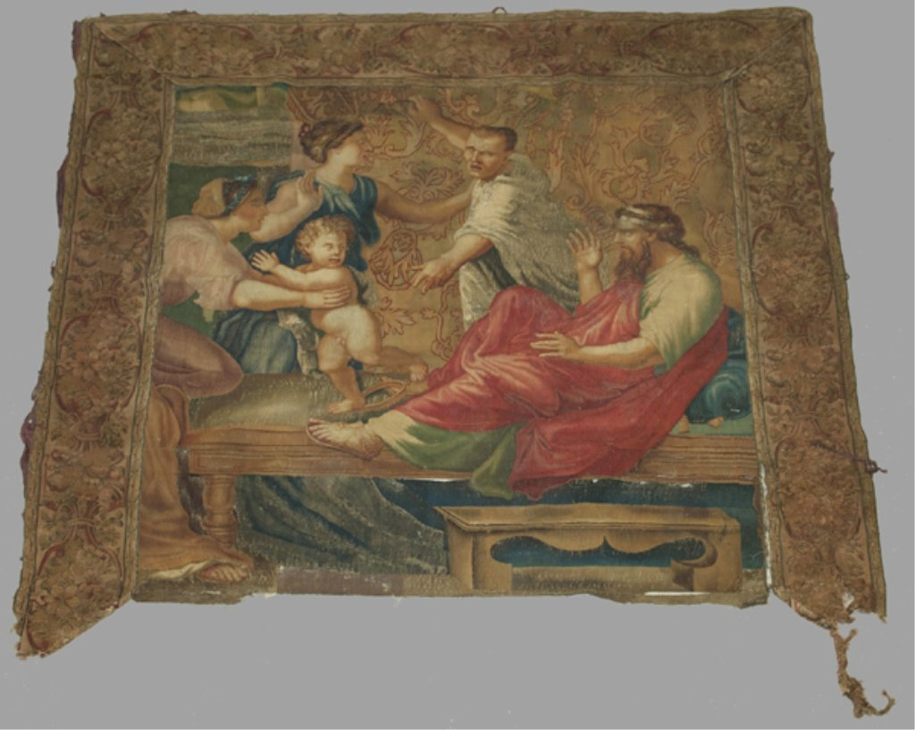 100: Large Tapestry in the Renaissance style